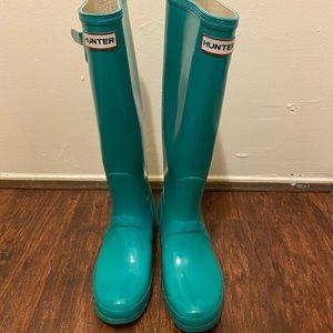 Hunter Women's Original Tall Rain Boots SZ 9